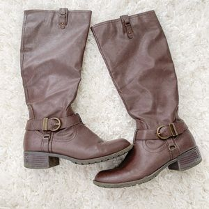 Women's Tall Brown Boots
